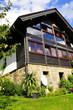 Haus Garten Eigenheim Fenster