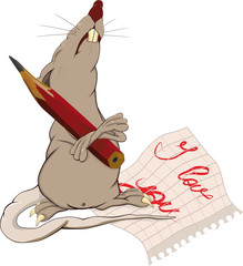 Rat, love and a note