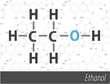 Set of chemistri orgnick formulas
