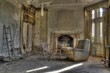HDR photo of old derelict house