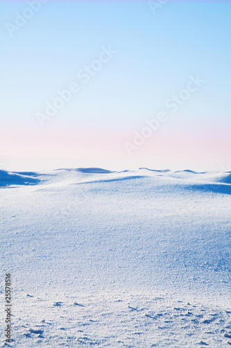 Leinwandbild Motiv Tundra