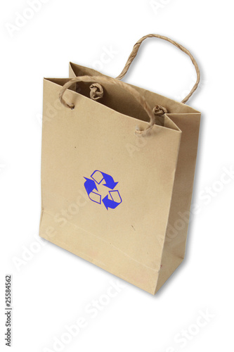 Recycle bag.,it reduce global warming