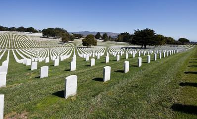 Golden Gate National Cemetery, San Bruno, CA.