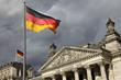 Leinwanddruck Bild - Berliner Reichstag
