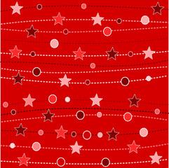 sfondo rosso natalizio