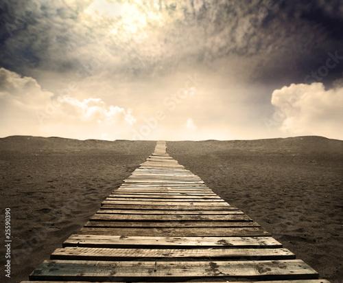Naklejka Path
