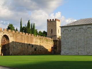 Der Platz der Wunder in Pisa Italien