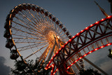Chicago Ferris Wheel at Navy Pier - Fine Art prints