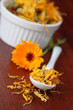 Tea collection - pot marigold