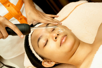 Asian Facial Treatment at Beauty Clinic