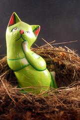 Il gatto nel nido