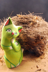 Il gatto e il nido