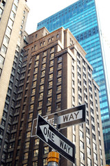 New York City, one way