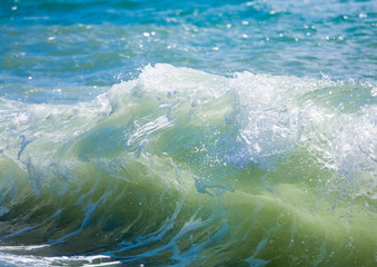 Sea surf wave