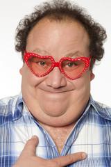 homme obèse homosexuel travesti