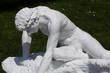 statua di marmo bianco - 25603127