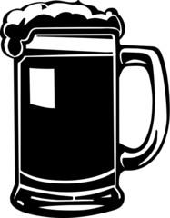 Beer Mug Vinyl Ready Vector Illustration