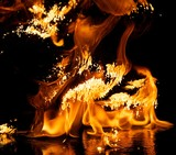 Fire explosion