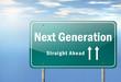"Highway Signpost ""Next Generation"""