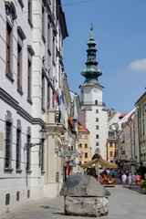 rue principale de bratislava