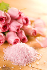Sea salt and rose