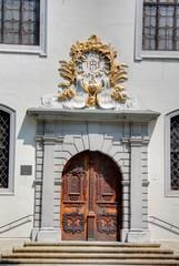 entrée d'un couvent à Bratislava