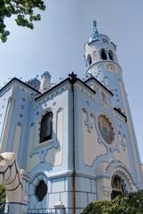 église bleue de Bratislava