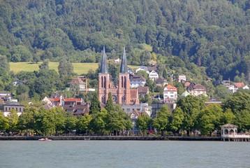 cathédrale de Bregenz (lac de constance)