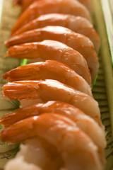 Fresh shrimps.
