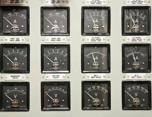 Analog control gauges