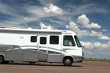 Recreational vehicle on the road - 25614149