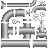 Set of pipeline elements (vector)