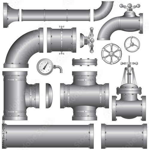 Set of pipeline elements (vector)