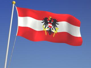 Flagge Österreich Flag of Austria