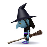 Witch is feeling sad