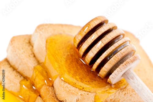 Biscotte au miel