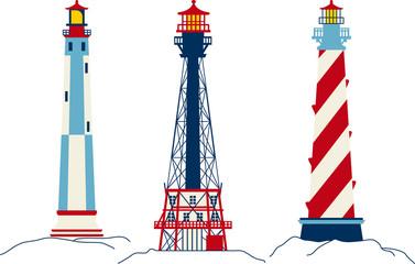 Vector Lighthouses