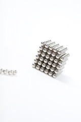 Magnetic metal spheres