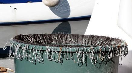 Ligne de pêche ' palangrotte '
