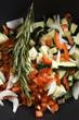 Tomaten Zucchini Salat