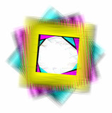 CMYK COLORED FRAME