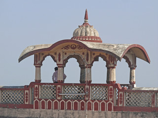 Structure on Terrace at Parvati, Pune, Maharashtra, India