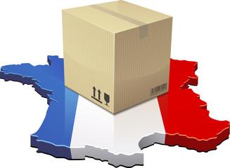Livraison en France (détouré)