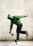 Skateboard skill poster