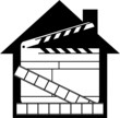 Home video illustration - vector