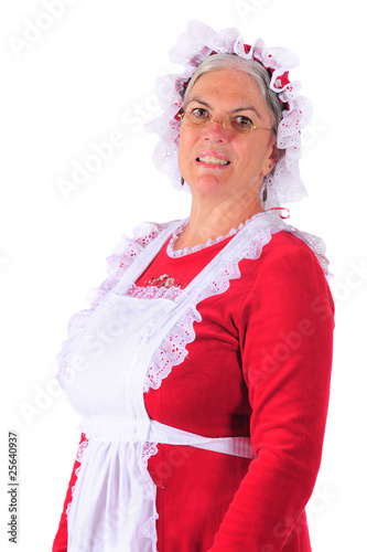 Mrs. Santa Portrait