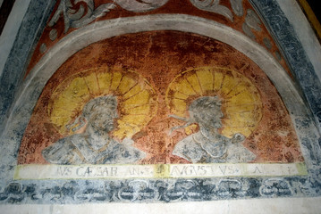 Caesar and Augustus, Forchtenstein, Burgenland, Austria