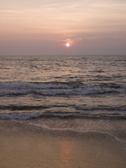 Sunset, Arabian Sea, Kerala, India