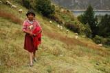 Petite bergère des Andes