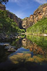 Cliffs near Jim-Jim Falls in Kakadu National Park, Australia